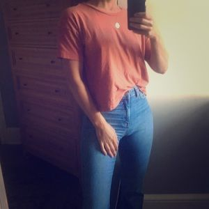 Cropped Madewell T-shirt